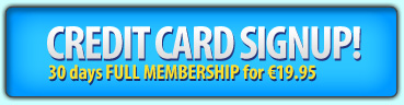 Credit Card Sign Up
